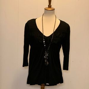 Size xxl Maurice's black blouse